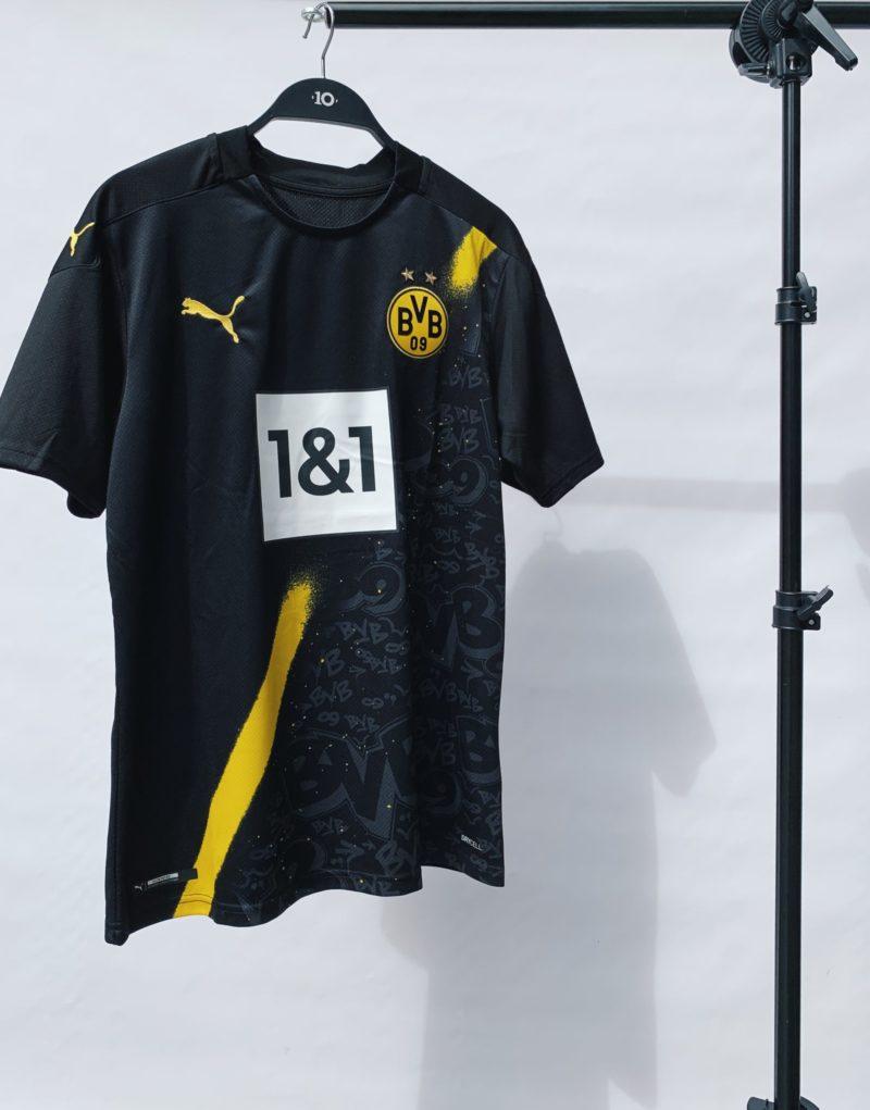Borussia Dortmund, away, camiseta, 20/21, camisa