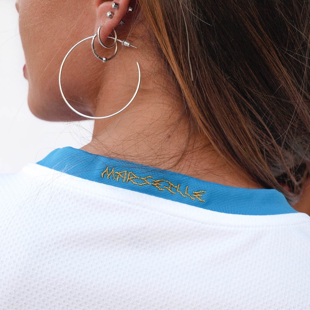 equipación home del olympique de marsella. ligue 1 temporada 20/21