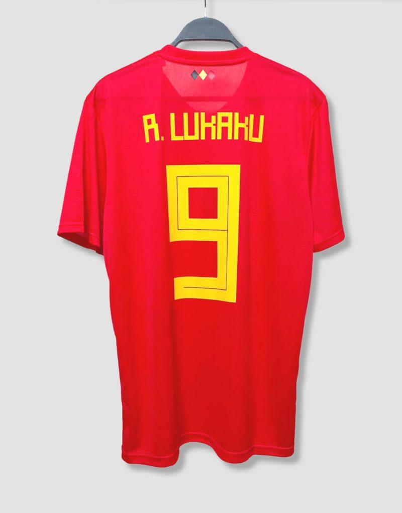 Camiseta Bélgica 2018 Lukaku